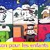 نشيد الاطفال باللغة الفرنسية ( Chanson pour les enfants l'hiver )