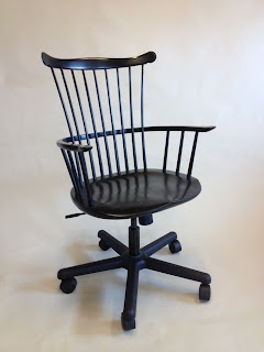 office chair, conference table chair by Timothy Clark, Cabinetmaker/Chairwright