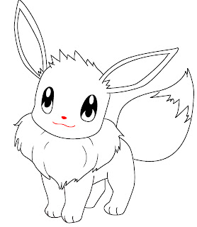 How To Draw Eevee Step 9