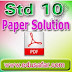 Standard 10 Sciece & technology Part A Bord Exam Paper solution
