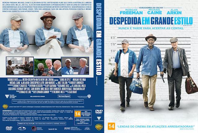 Capa DVD Despedida em Grande Estilo [Exclusiva]