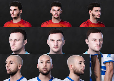 PES 2021 FacePack 2 by Lukasedam7