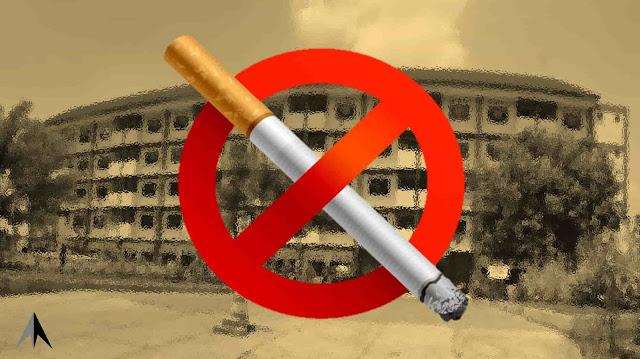 larangan merokok di kamar hotel
