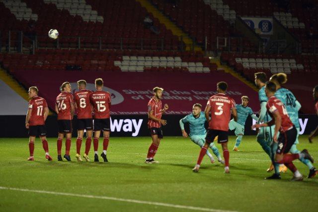 ملخص واهداف مباراة ليفربول ولينكولن سيتي (7-2) كاس رابطة الدوري الانجليزي