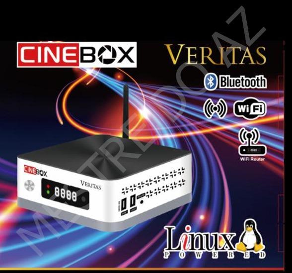 CINEBOX VERITAS NOVA ATUALIZAÇÃO V1.24.0 - 30/07/2021