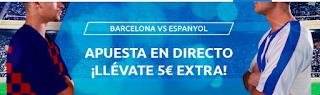 mondobets 5 gratis Barcelona vs Espanyol 8-7-2020