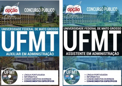 Apostila concurso UFMT 2017 - Universidade Federal do Mato Grosso