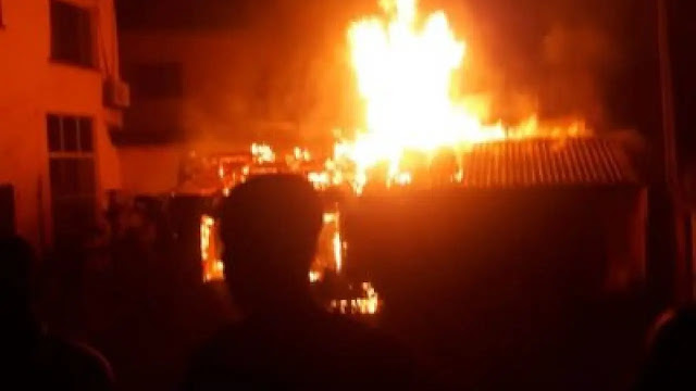 Ravaging fire consumes LG council in Zamfara