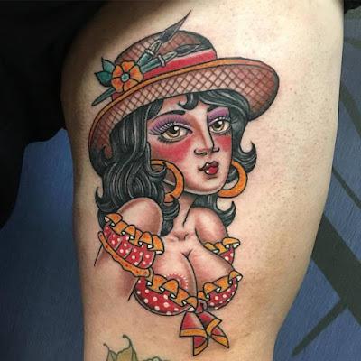Tatuajes old school para mujer super bonitos