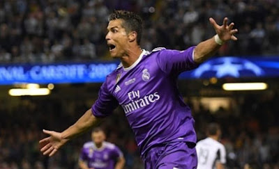 Ronaldo: sets a personal goal scoring record in Cardiff