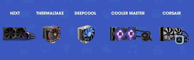 Các thương hiệu tản nhiệt nổi tiếng