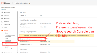 Mendaftarkan Blogdi Google Search Console