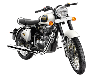 Royal Enfield Classic 350 Image White