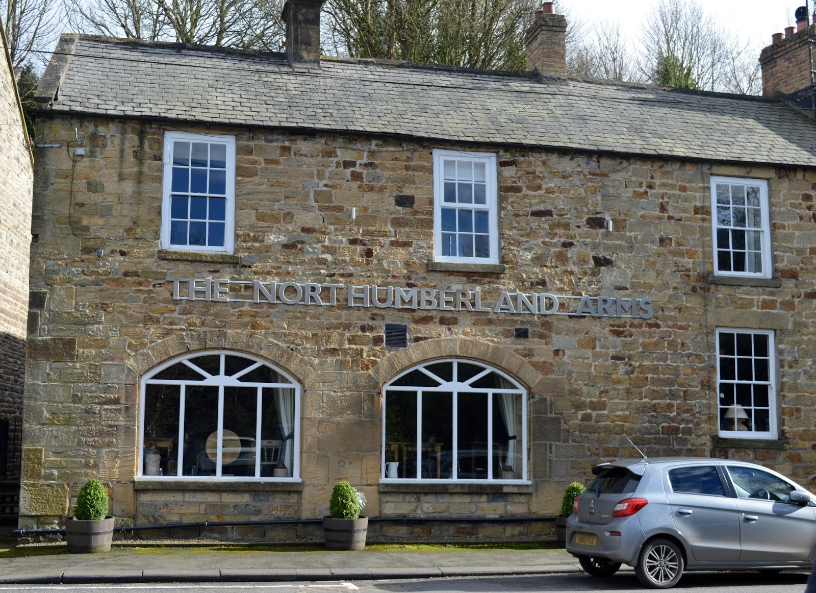 The Northumberland Arms, Felton - exterior