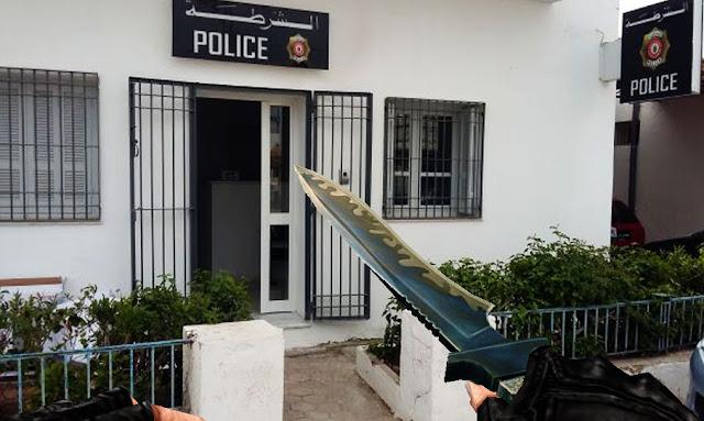 Tunisie: Un jeune homme attaque un poste de police