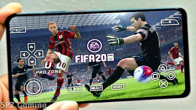 FIFA 20 PPSSPP Android 100MB Offlne Camera PS4  Best Graphics New Faces Kits & Transfers Update 2021