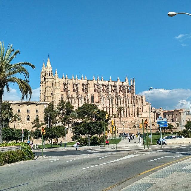 Katedra Hiszpania, stolica Majorki Palma de Mallorca