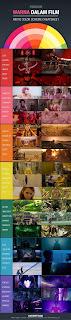 Infografis Psikologi Warna dalam Film