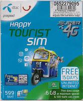 Tarjeta SIM, Tailandia, La vuelta al mundo de Asun y Ricardo, vuelta al mundo, round the world, mundoporlibre.com