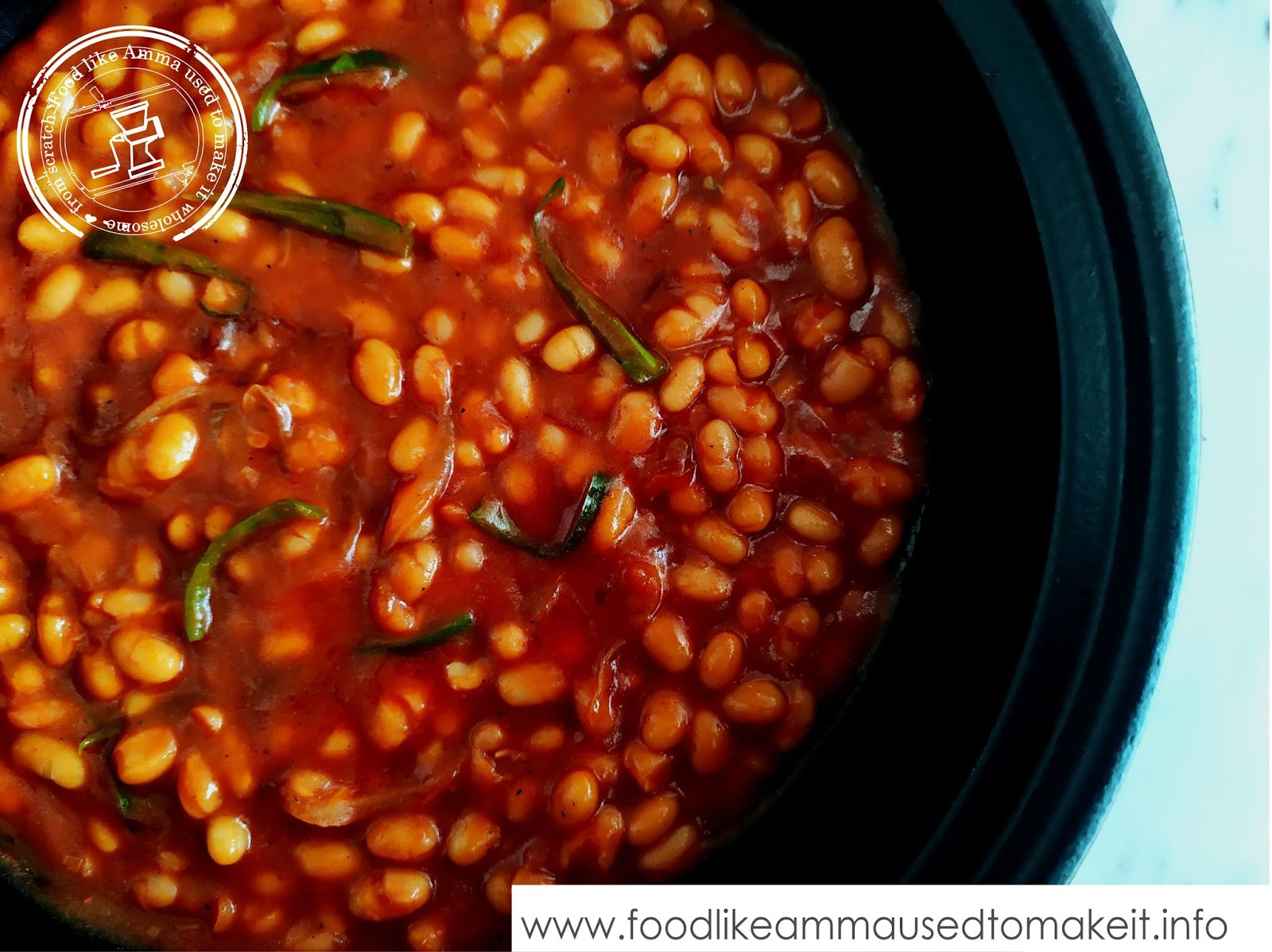 Baked Beans Curry Recipe