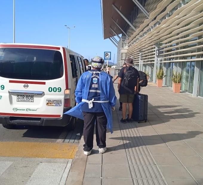 Salud Distrital evitó que cuatro turistas chilenos  viajaran positivos para COVID-19