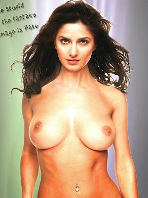 Fake Katrina Kaif Topless boobs
