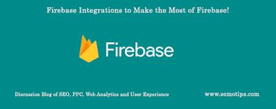 Firebase Analytics Integrations