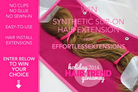 Holiday 2014 Hair Trend Giveaway
