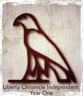 Liberty Chronicle Independent celebrates it's first anniversary, created on March 12, 2016