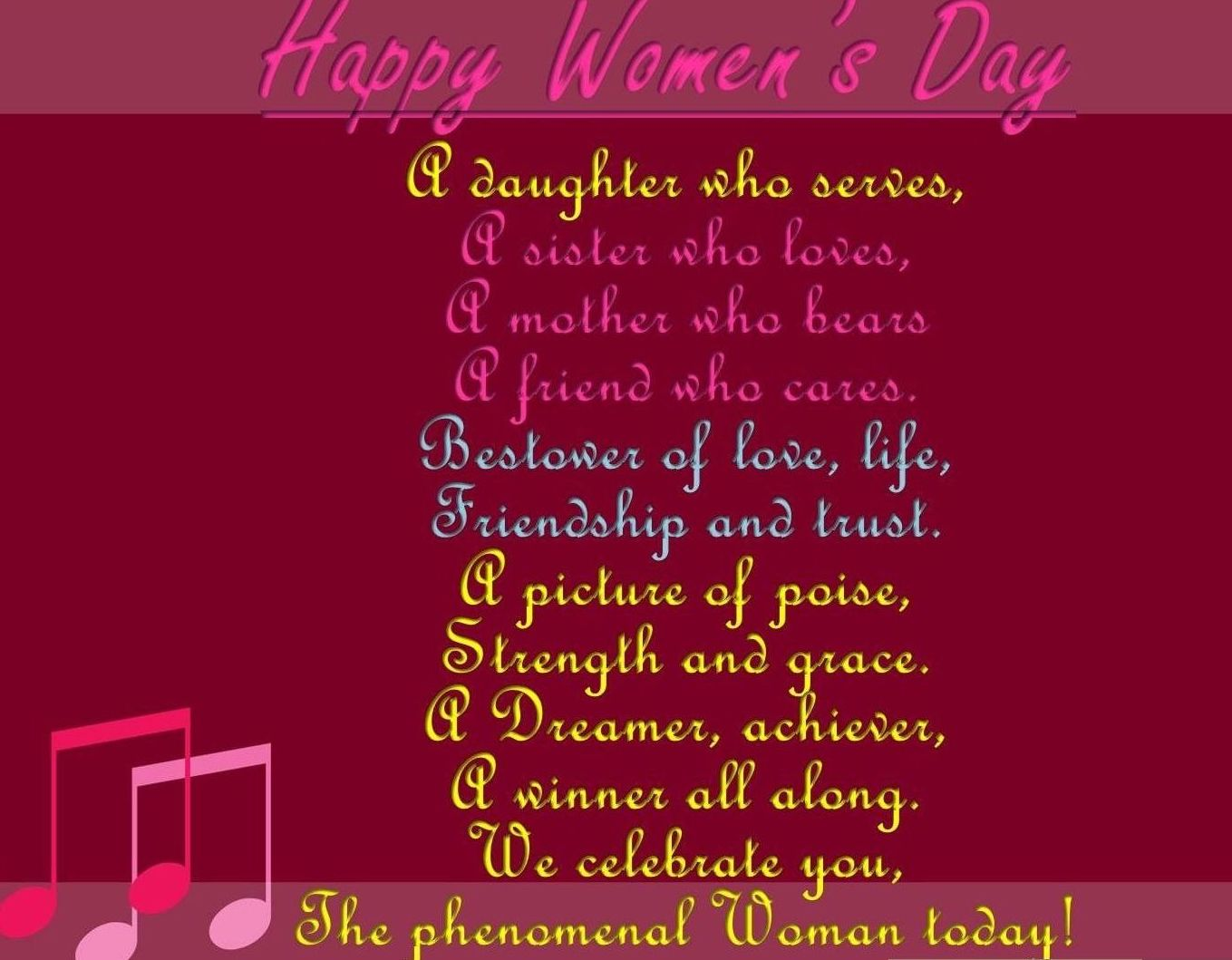 10 beautiful and inspiring happy women 39 s day 2017 poems