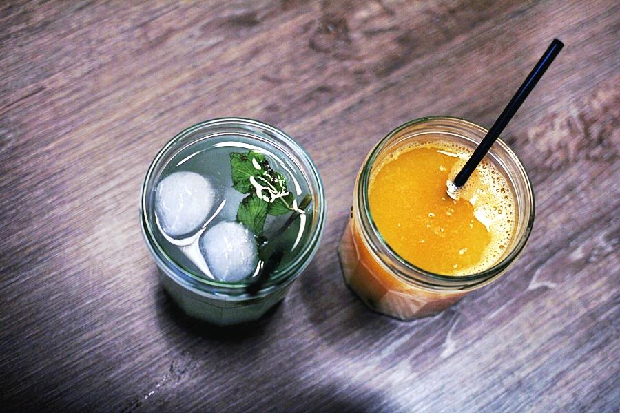 lemonade orange juice fresh