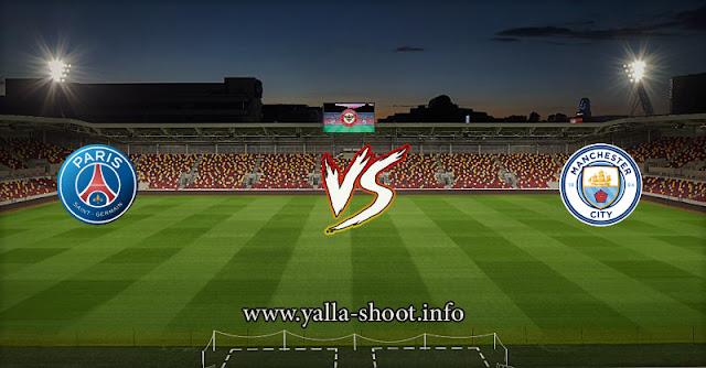 نتيجة مباراة مانشستر سيتي وباريس سان جيرمان 4-5-2021 يلا شوت في دوري ابطال اوروبا