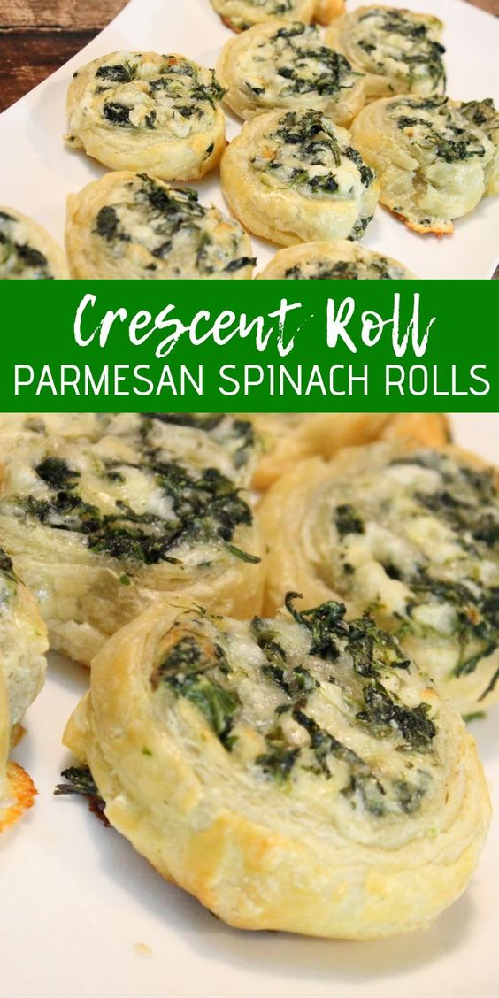 Bite sized appetizers are perfect for Super Bowl Parties! This Creamy Spinach Roll Ups Recipe is a great one to try this year!
