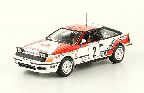 collezione rally monte carlo Toyota Celica GT-Four 1991 Carlos Sainz - Louis Moya