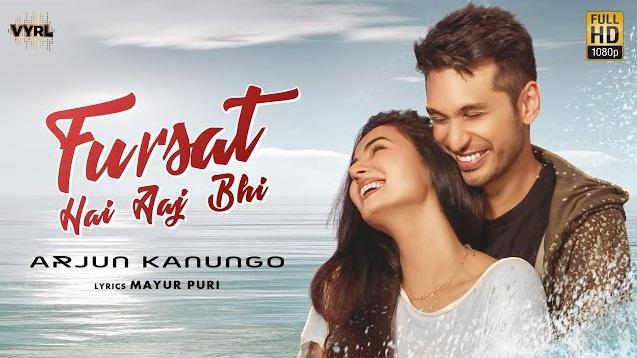 Fursat Hai Aaj Bhi Lyrics - Arjun Kanungo