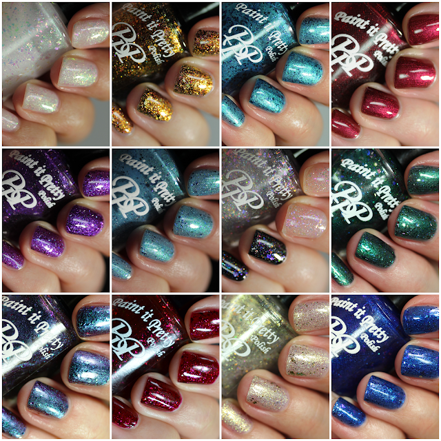 birthstone nail polish series collection Paint It Pretty Polish