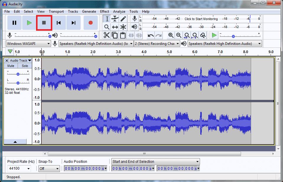 تسجيل الصوت الداخلي للكمبيوتر