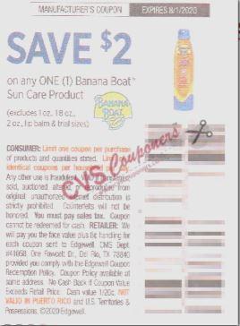 banana boat coupon