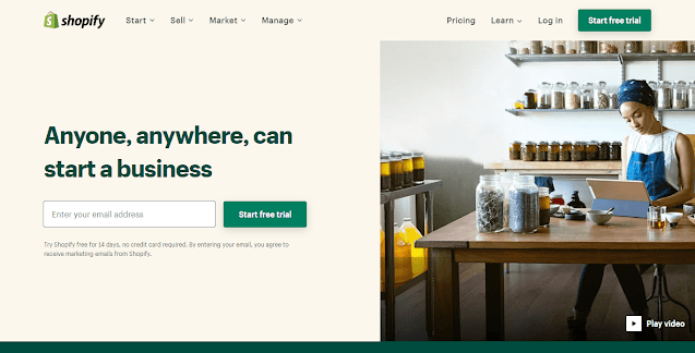 Shopify Online Store Builder