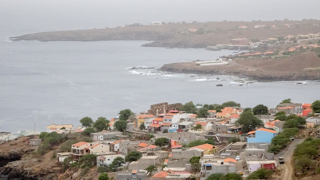 The west coast of Cape Verde