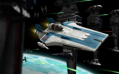 Resistance A-wing Fighter picture 3
