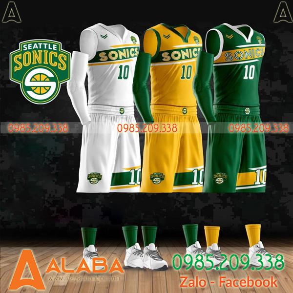 Quần áo bóng rổ thiết kế riêng bắt mắt