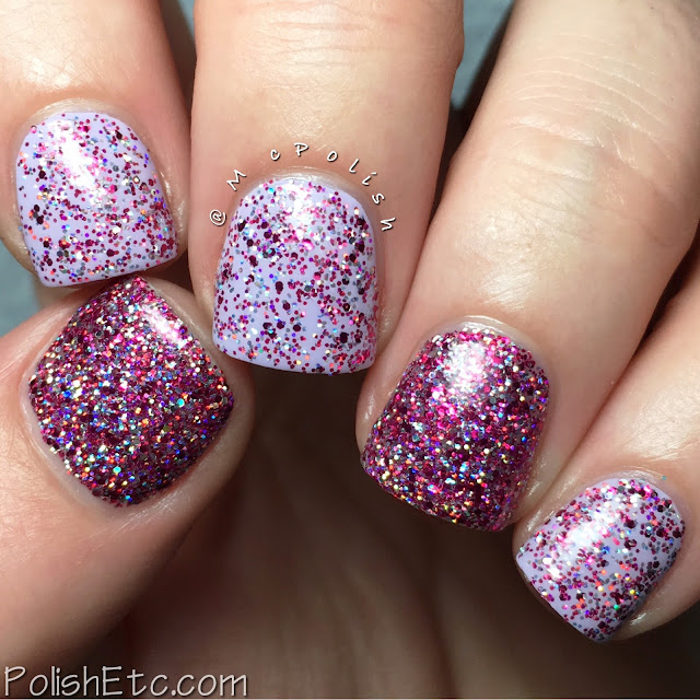 Ellagee - Three Years of Sparkle Collection - McPolish - Pink Me!