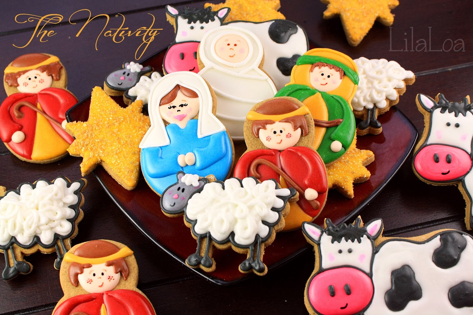 Nativity Cookies