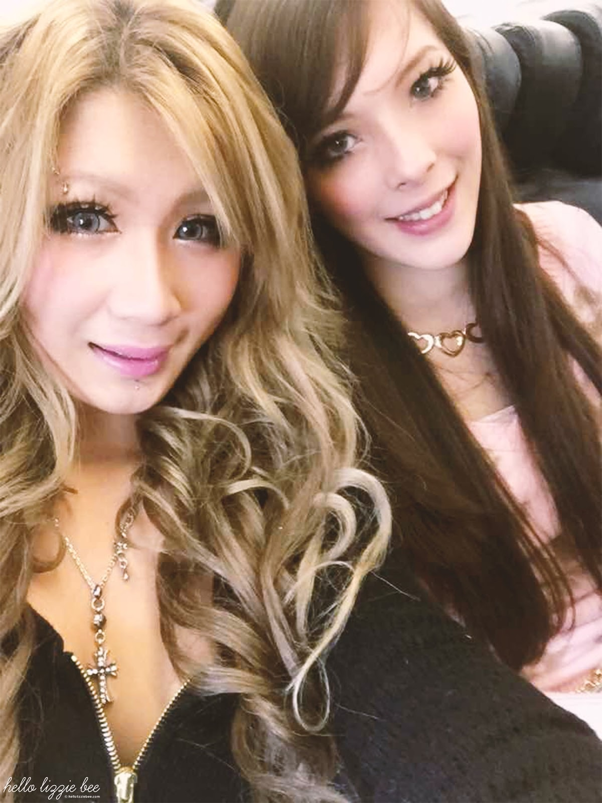 chewiee and lizzie bee, gaijin gyaru, uk gyaru