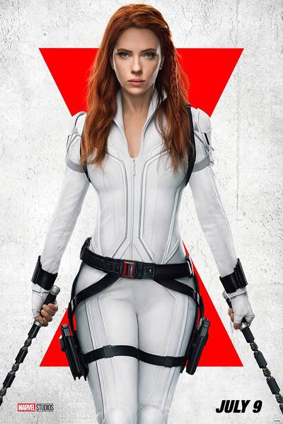 Scarlett Johansson returns as BLACK WIDOW on July 9.