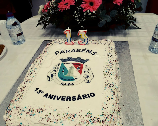 bolo de aniversário do NAZA