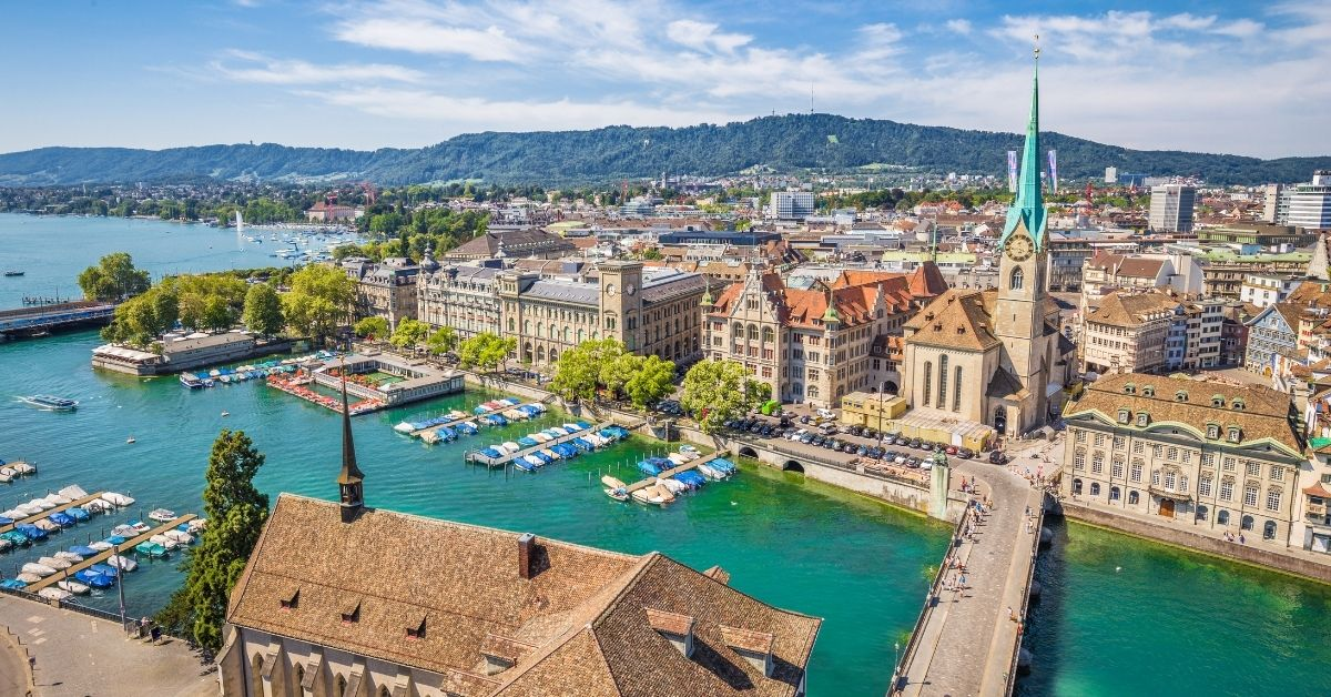 Top 10 Most Livable Cities In The World 2021 - Zurich