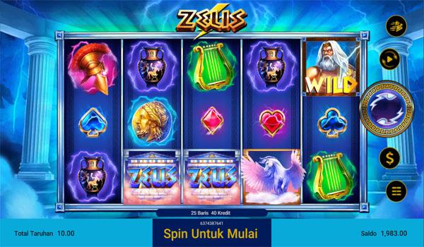 Main Gratis Slot Indonesia - Zeus Spadegaming