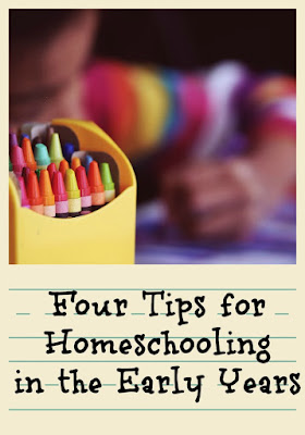 Tips for Homeschooling in the Early Years on Homeschool Coffee Break @ kympossibleblog.blogspot.com - Join me for the entire post on The Homeschool Post @hsba.com
